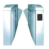 China Flap barrier 304 stainless steel security gate barrier with in-built alarm system on sale