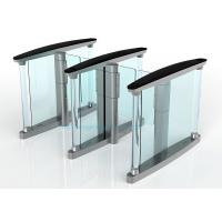 Wholesale Fast Speed Turnstile Security Systems , 50HZ Swing Barrier Gate from china suppliers