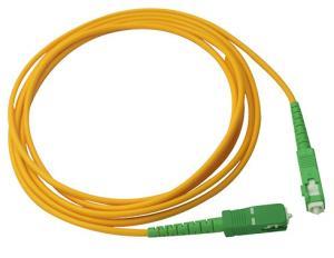 Simplex 2.0mm LSZH Fiber Optic Patch Cord SC / APC Connector to SC / APC SM