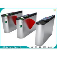 Wholesale RFID 304 Stainless Steel Flap Barrier Gate With Access Control System from china suppliers