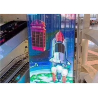 Wholesale P3.91-7.81 1000x500mm Transparent Led Mesh Screen from china suppliers