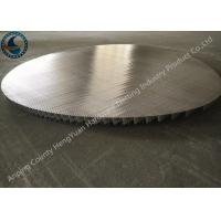Wholesale Stainless Steel Johnson Wire Screen Round Panel No Frame Strip Rod from china suppliers