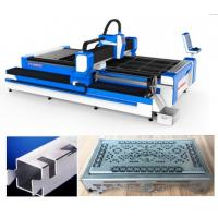 Wholesale SS Pipes 3D Laser Cutting Machine / 3 Axis Fiber Sheet Metal Cutter from china suppliers
