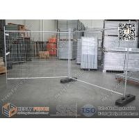 Buy cheap Temporary Fence Panels with Rubber Block | H 2100mmXW2400mm | AS4687-2007 from wholesalers