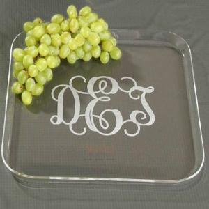 Quality Transparent Plexglass Food Display Trays for sale