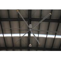 China Aerodynamic 6 Blade Bigass Large Industrial Ceiling Fan , 20ft HVLS Electric Ceiling Fan on sale
