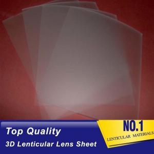 Wholesale 161 Lpi 51X71CM Lenticular Lens Film 0.25mm PET 3D Sheet Lenticular Lenses material for 3d lenticular printing service from china suppliers