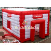 China Nylon Inflatable Wedding Tent With Logo Rip Stop Fabric Flame Retardant on sale