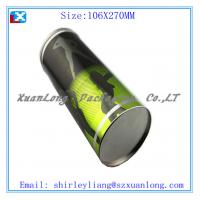 Wholesale gift tin bottle tin wine tin box from china suppliers