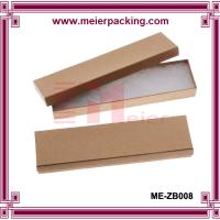 Wholesale Kraft Brown Cardboard Jewelry Boxes  ME-ZB008 from china suppliers
