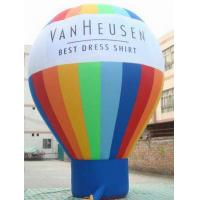 Quality Huge Waterproof Rainbow Earth Inflatable Balloons For Advertising for sale