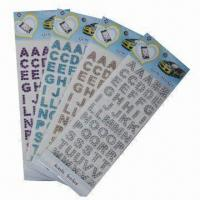 Wholesale Acrylic Stickers for Decoration, Customized Designs are Accepted from china suppliers