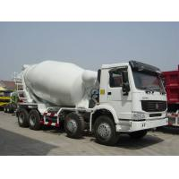 Wholesale 8x4 Sinotruk 16cbm Concrete Mixer Trucks 380HP with EURO III Standard from china suppliers