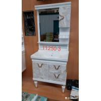 Buy cheap Water Transfer Printing PVC Bathroom Cabinet / Mirrored Bathroom Cabinet With from wholesalers