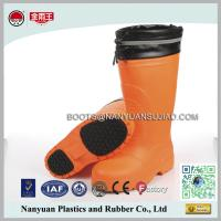 Wholesale 306 Knee High Composited Toe Cap Felt Lining Winter EVA Safety Boots from china suppliers