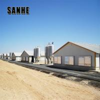Wholesale steel frame poultry farm house chicken cage building shed construction and whole farm equipment supplier from china suppliers