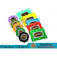 Wholesale UV Anti - Fake RFID Casino Chips Customized Multi - Color With Number Stickers from china suppliers