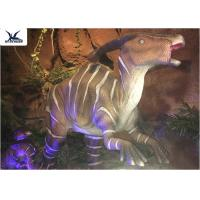 Wholesale Indoor Decorative Realistic Dinosaur Models With Head Moving Up And Down from china suppliers