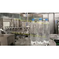 Wholesale Carbonated Drink Automatic Bottle Filling Machine CSD Bottling Plant from china suppliers