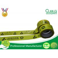 Wholesale Underground Caution PE Warning Tape Double Color with Strong Adhesive from china suppliers