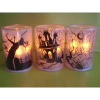 Wholesale LED flashing tea-light Christmas LED candle Indoor decorated Halloween LED candle Flamless LED candle from china suppliers