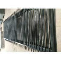 Wholesale Outdoor Metal Automatic Driveway Gates , Electric Sliding Gates For Driveways from china suppliers