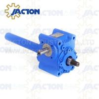China 5 KN Mechanical Worm Gear Screw Jack Trapezoidal lifting Screw 16MM Height Adjustment on sale