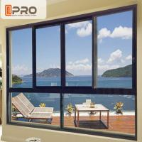 Wholesale Sound And Thermal Insulation Aluminium Horizontal Sliding Window  Easy To Install from china suppliers