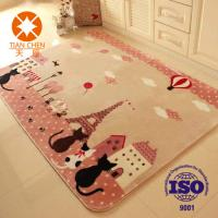 Wholesale Anti - Slip Outdoor Carpet Rug With PVC Dots Felt Carpet Underlay Cartoon Pattern from china suppliers