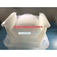 Wholesale 150mm 6 Inch Sapphire Substrate Al2O3 DSP Ssp 1.0mmt For Led PSS Customized from china suppliers