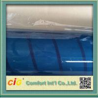 Wholesale OEM Light Blue Tone PVC Clear Film  Anti Scratch Thickness 0.09 - 0.50mm from china suppliers