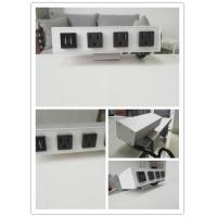 Wholesale Desk Mounted Power Sockets With 3 Outlets And 2 USB Ports For Laptop Mobile Phone from china suppliers