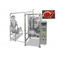 Wholesale High Speed Liquid Packaging Machine For Ketchup / Fruit Jam 2.2Kw Power from china suppliers