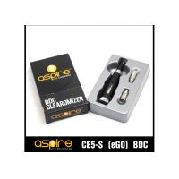 Buy cheap CE5S Aspire Clearomizer Tanks , Stainless Steel 2.1ohm Strong Vapor from wholesalers