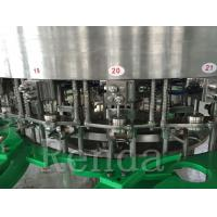 China Full Automatic Wine Bottle Filling Machine For Beer Canning / Bottle Packaging for sale