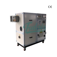 Wholesale 1000m3/h Silica Gel Rotary Wheel Industrial Desiccant Dehumidifier from china suppliers