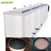 China Industrial Ultrasonic Tank 40khz Diesel Particulate Filter Cleaning Machine With Dying System on sale