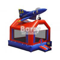 Wholesale Safety Kids Playground Plane Inflatable Bouncers Easily Assemble / Packing from china suppliers