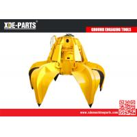Wholesale Excavator forest grab bucket, hydraulic Rotating Grapple,Hydraulic Grapple Bucket from china suppliers
