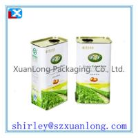 Quality China Olive Oil Tin Box Manufacturer for sale