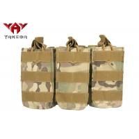 Wholesale Military Molle Gear Accessories Compatible Open Top Triple Mag Pouch For M4 M17 AK47 Magazine from china suppliers