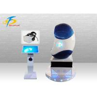 Wholesale Blue And White Single Player 9D Egg VR Cinema / Virtual Reality Simulator from china suppliers