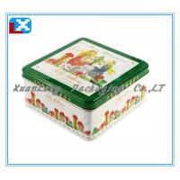 Wholesale Square Cookie Tin Box /XL-2011 from china suppliers