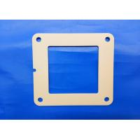 Wholesale Zirconia Flame Industrial Ceramic Parts 97% Alumina Ceramic 4 Bolt Hydraulic Square Flange from china suppliers