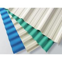Wholesale White Plastic Corrugated Roofing Sheets 1130mm Width / 2mm Thickness from china suppliers