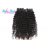 Wholesale Black Women Natural Black Cambodian Hair Bundles , Spiral Curl 12-14 Inch Hair Extensions from china suppliers