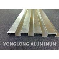 Wholesale RAL Colour Powder Coated Aluminium Extrusions / Curtain Wall Profile from china suppliers