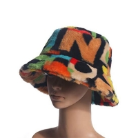 Wholesale 56cm Soft Fabric Fisherman Bucket Hat Sublimation Print Logo from china suppliers