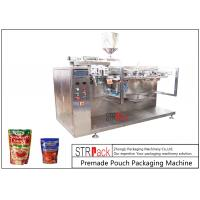Buy cheap Sauce Premade Pouch Packaging Machine For Doypack , 3/4 Sides Sealed Bags , from wholesalers