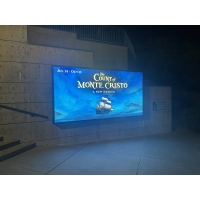 Wholesale P2.5mm 5000nit Outdoor LED Advertising Display ICN2153 For Wifi 4g Usb from china suppliers